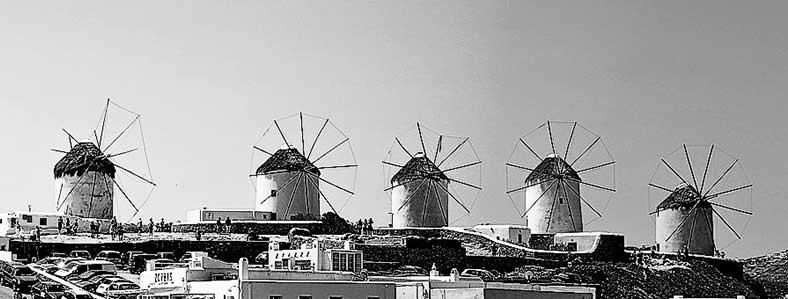Vacanze Grecia 2018, la Grecia vista dal mare mikonos mulini cicladi