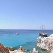 Vacanze Grecia 2018, la Grecia vista dal mare polyegos vista panoramica isole cicladi