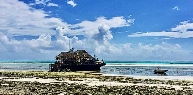 Semplicemente Zanzibar the rock
