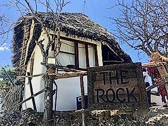 Semplicemente Zanzibar the rock reasturant