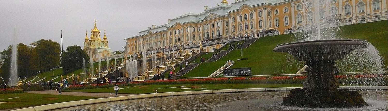 Palazzo giardini Peterhof