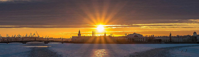 san pietroburgo tramonto